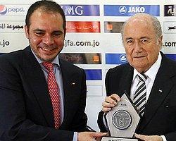 Ürdün Prensi FIFA Başkanı Blatter'e Rakip
