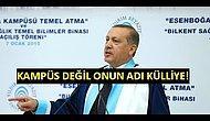 Cumhurbaşkanı Erdoğan: Kampüs Yerine Külliye Denilsin
