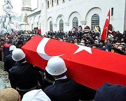 Şehit Polis Kenan Kumaş, Trabzon'da Toprağa Verildi