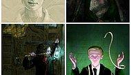 Harry Potter Serisinin Yeni Çıkacak Resimli Kitabından İlk Örnekler