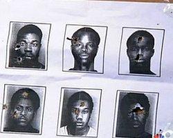 ABD Polisi Siyahların Sabıka Fotoğraflarını Hedef Tahtası Olarak Kullanmış