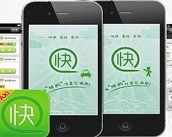 Çin'in Uber Rakibi Kuaidi Dache Alibaba'nın da İçinde Olduğu Yatırımcı Grubundan 600 Milyon Dolar Yatırım Aldı.