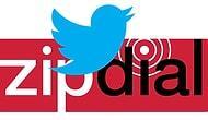 Twitter,  ZipDial'ı Satın Aldı
