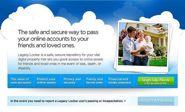 Legacy Locker: Dijital kasanızda saklayın