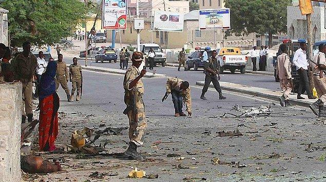 1. Somali'de Erdoğan Ziyareti Öncesi Bombalı Saldırı