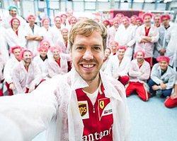 Yeni Ferrari'yi İlk Sebastian Vettel Kullanacak