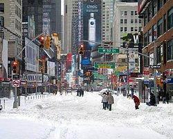 New York Tarihin En Büyük Kar Fırtınasına Hazırlanıyor