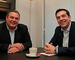 Yunanistan'da Koalisyon İçin Anlaşma Sağlandı