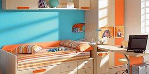 Çocukların Ders Çalıştığı Odalarda Tercih Edilmesi Gereken 4 Renk