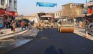 Şanlıurfa Büyükşehir Belediyesi tarihi bölgelere giden yolları asfaltlamaya başladı.