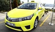 Türkiye'nin İlk Elektrikli Taksisi Trafikte