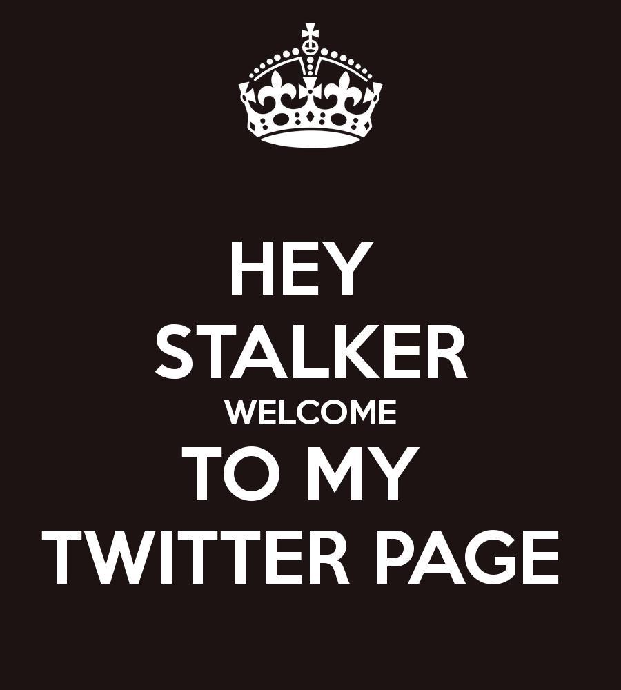 Stalker nasıl olunur
