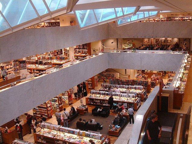 27. Kütüphanelerinden bahsetmeye bile gerek yok.