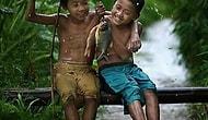 Çocukların balık keyfine diye cek yok