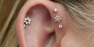 Kulağınızın Hiç Olmadık Yerlerine Küpe Olması İçin 11 Kulak Piercingi