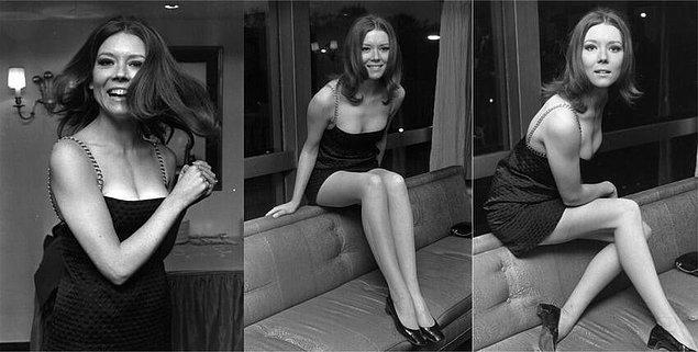 27. Diana Rigg (Game of Thrones'daki Olenna Tyrell), 1967.
