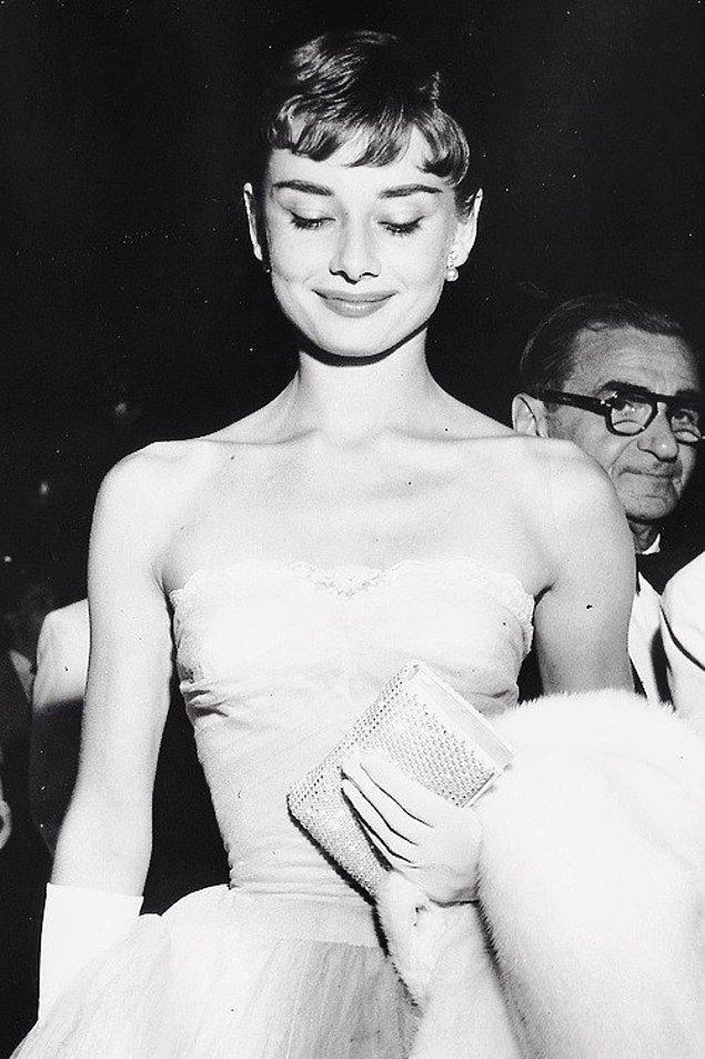 30. Audrey Hepburn, 1953.