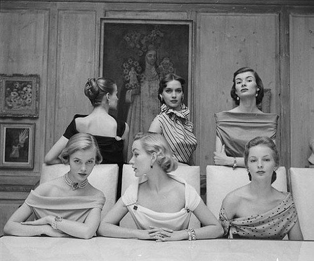 39. 1950'lerin kadınları.
