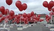 Kırmızı Coca-Cola Kamyonu Mutluluk Dağıtıyor