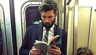 Kitap Okuyan Erkeklerin Oldukça Seksi Olduklarını Gösteren 12 Fotoğraf