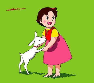 Heidi 39 nin ayaklar neden plak svi re 39 nin karanl k y z - Haidi dessin anime ...