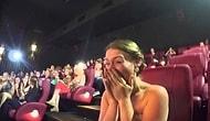 """""""Grinin Elli Tonu"""" Filminin Gala Gecesinde Evlenme Teklifi"""