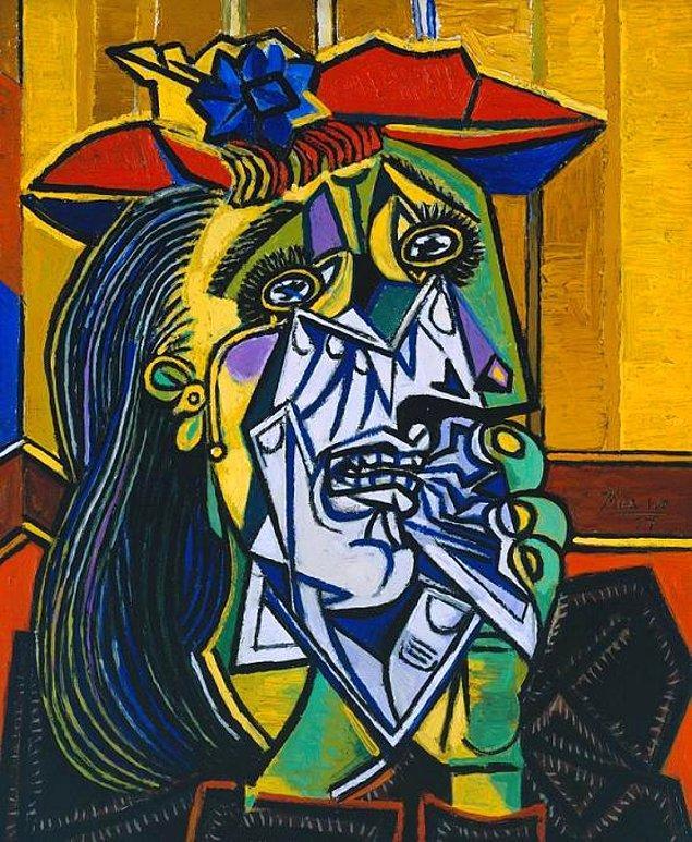 1. Ağlayan Kadın - Pablo Picasso