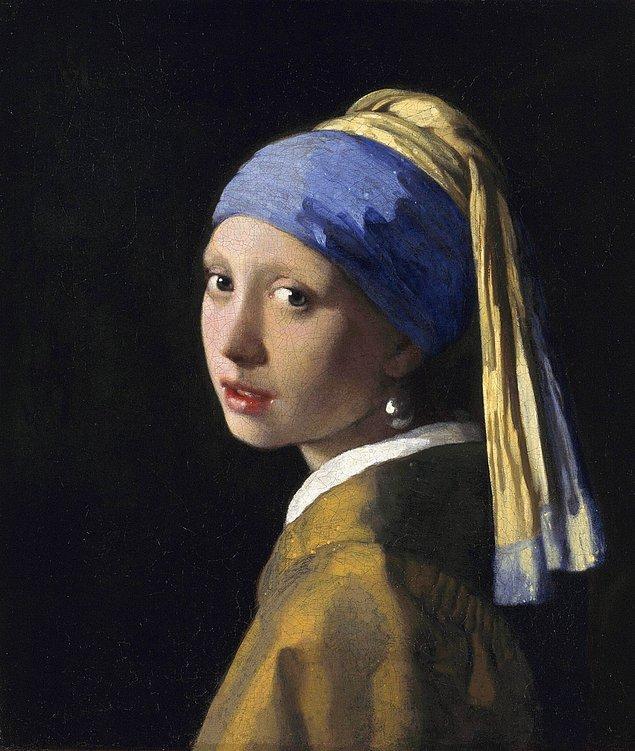 2. İnci Küpeli Kız - Johannes Veermer