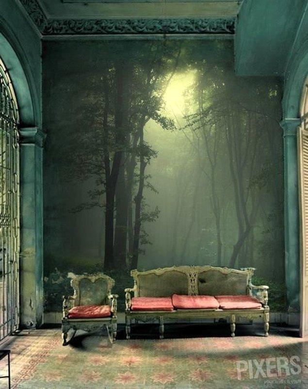 4. Salonda orman nasıl olurdu?