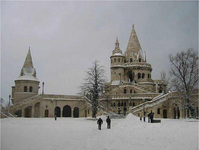 Hill kalesi Budapeşte