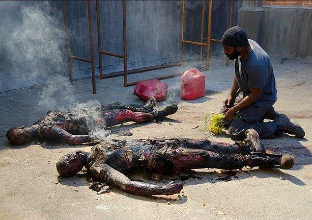 13. Tyreese, Karen ve David'in cesedini gördüğü an