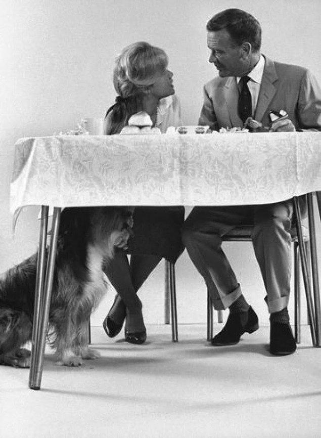 11- Aktör John Mills ve kızı Hayley 1962.
