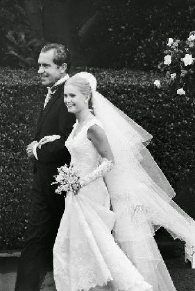 14- Amerika Birleşik Devletleri Başkanı Richard Nixon ve kızı Patricia, 1971.