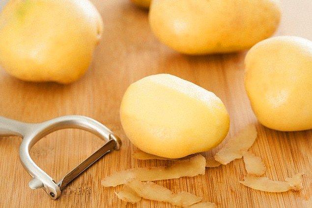 11. Pişirilmeden yenilmesi imkansız olan patates bize, pişmenin, tecrübenin güzelliğini ispatlar.