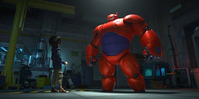 En iyi animasyon: Big Hero 6