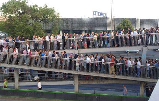 12. Zeytinburnu - İnsan trafiği