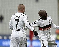 Beşiktaş'a Liverpool Maçı Öncesi Demba Ba ve Gökhan Töre Müjdesi