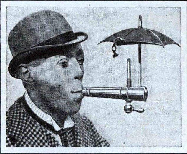 11. Şemsiyeli sigara ağızlığı