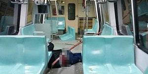 Metroda Kalçasına Demir Giren Güvenlik Görevlisi Şikayet Etmedi, İşe Alındı