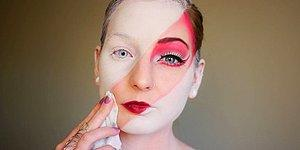 İstese Makyajla Hepimizin Kılığına Girebilecek Makyöz Elsa Rhae'nin 23 İlginç Hali
