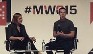 Mark Zuckerberg, MWC 2015'te Kariyerinin En Sıkıcı Konuşmasını Yaptı