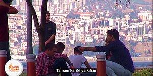İzmir'de Sokakta Namaz Kılarak Sosyal Deney Yapan Gençler