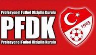 PFDK'dan Galatasaray ve Bursaspor'a Ceza Yağdı