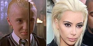 Saçlarını Sarıya Boyatmış Kim Kardashian'ın Benzetildiği 15 Şey