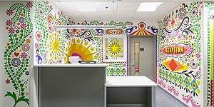 Çocuk Hastanesi 15 Sanatçı Tarafından Yeniden Tasarlandı!