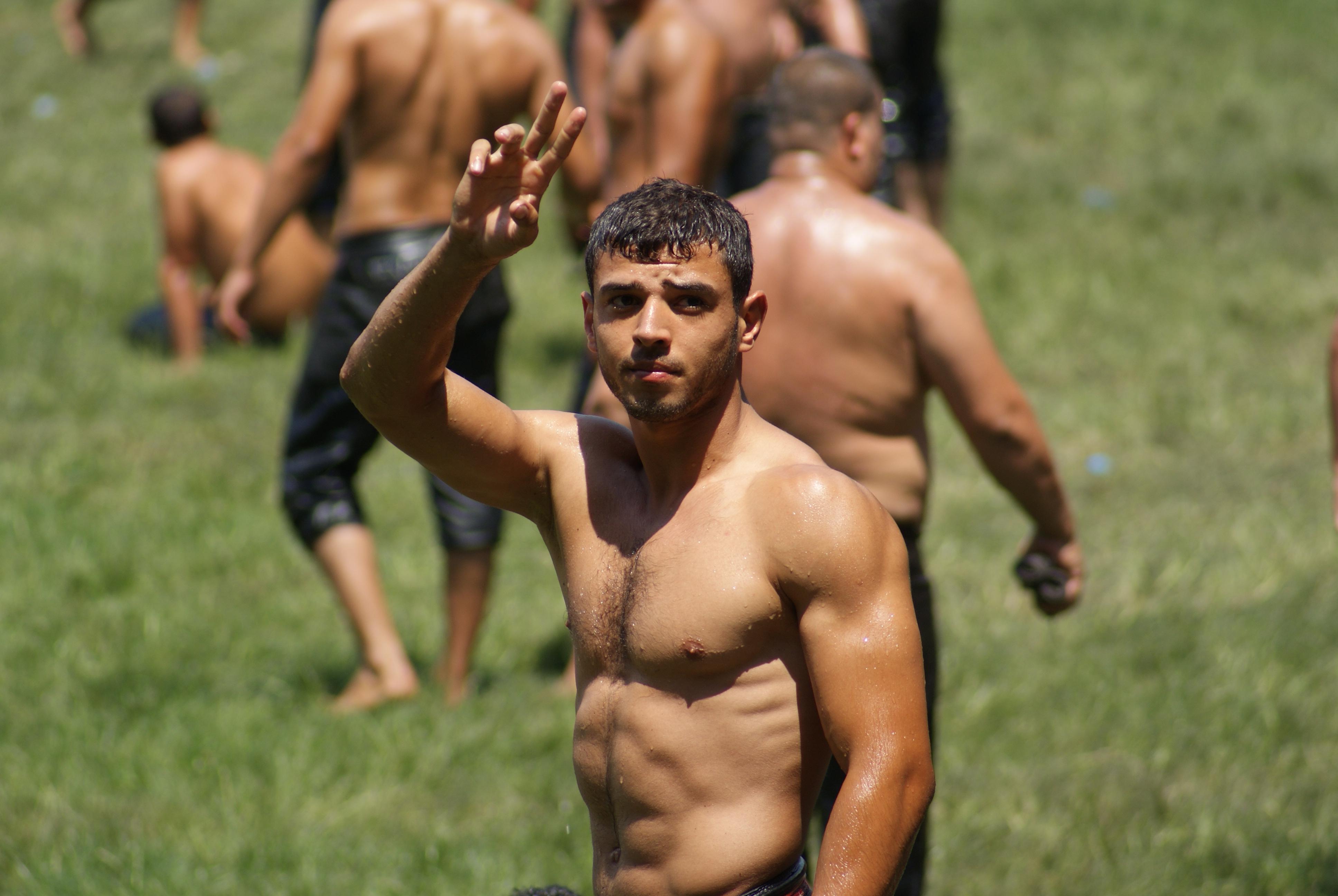 Turkish oil wrestling photos Feature - Turkish Oil Wrestlers - Magnum Photos