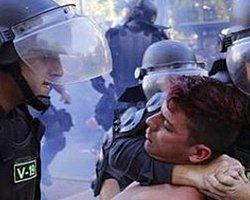 Belçika Polisi, Beşiktaş Taraftarına Sert Müdahalede Bulundu