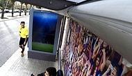 Otobüs Durağı Barcelona Yedek Kulübesi Olursa