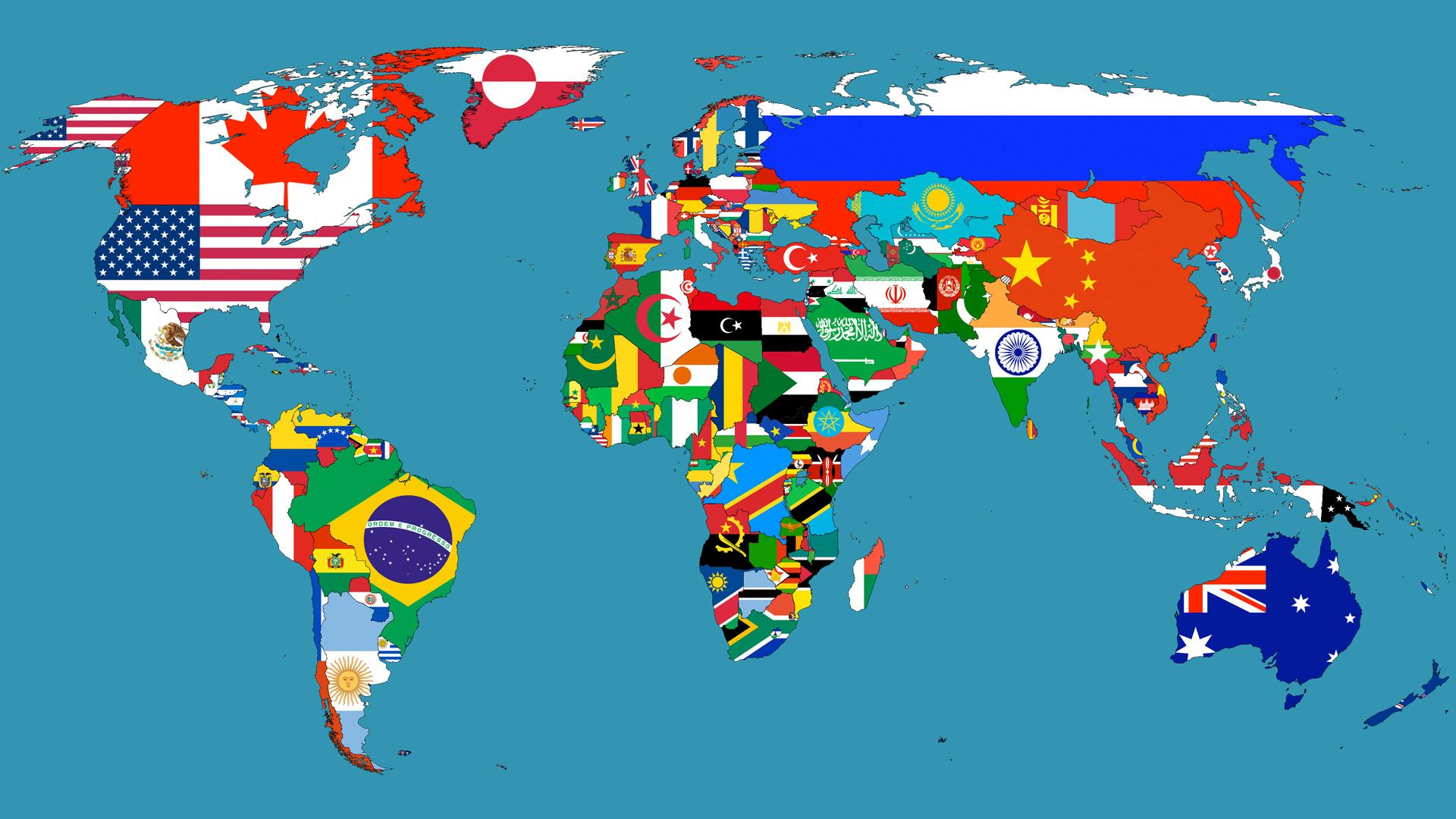Maps Of The World Countries With Names Images World Maps Africa - World map countries