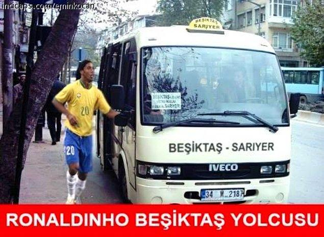 Ronaldinho Beşiktaş yolcusu